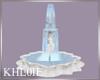 K bw wedding fountain