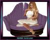Purple Deco Chair