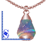 *S* Necklace_Rosegold