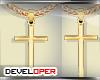 :D Cross Gold Chain