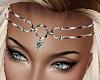 L Silver Headband