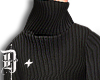D+ Higheck Sweater Black