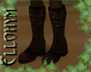 ~E- Leather Armor Boot M