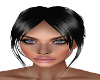 Ava Sleek Black Bun