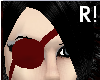 R! Blood Red Eyepatch