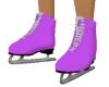 Purple Ice Skates,female