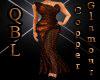 Copper Glamour Dress