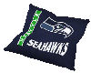 Seahawks cuddle pillow