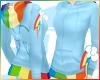 ~R~ QT Hoodi RainbowDash