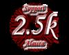 Support Sticker 2.5k