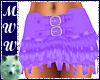 Lilac Fringed Skirt