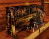 old saloon piano,