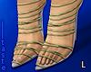 """Lace-ups"" heels"