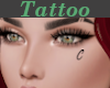 Tattoo Left Cheek C