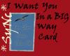 *Sync IWY BIG Sky Card