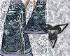 Long Blue Tree Skirt