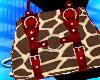 [sl]Giraffe Handbag red
