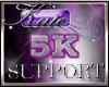 5k Support Sticker