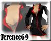 69 Chic Sexy -Black Red