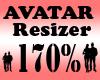 Avatar Scaler 170% / F