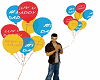 TF* Father's Day balloon