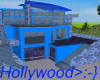Blue Hollywood Pad