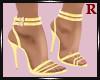 Glitter Gold Heels