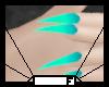 Nails - Teal