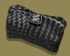 Black Nappa Clutch