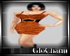 Glo* CharlieDressBurntOr
