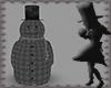MHN]Checkered Snowman