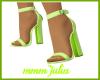 Lime Sandal