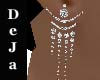 elegant silver earrings