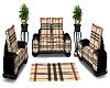 burberry living room set