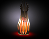 ~MG~ Orange Floor Lamp