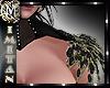(MI) Black Roses Collar