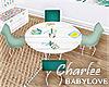 ❤Palm Beach Kids Table