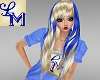 !LM Blond Blue Natalia