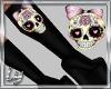[Ly]Fancy Skull Boots