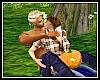 Halloween Pumpkin Kiss