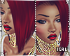 ► Rihanna red