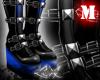 -LEXI- Morph Boots: Blue