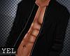 [Yel] Black jacket M