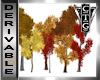 CTG FALL DECOR 7 TREES
