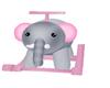 *CV* elephant rocker
