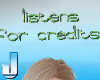 Listens for credits - gr
