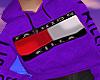 F.K Purple Hoody