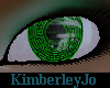 Cybernetic Eyes Green