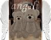 Familia de osos con pose