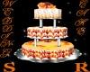 ORANGE/WHITE W.CAKE